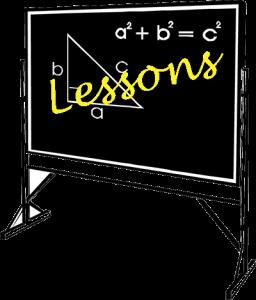 Lessons-blackboard