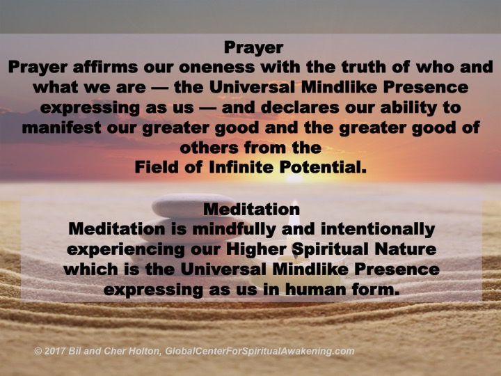 Prayer-Meditation-Definitions