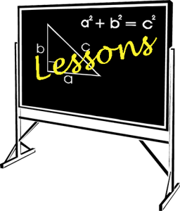 Lessons-blackboard