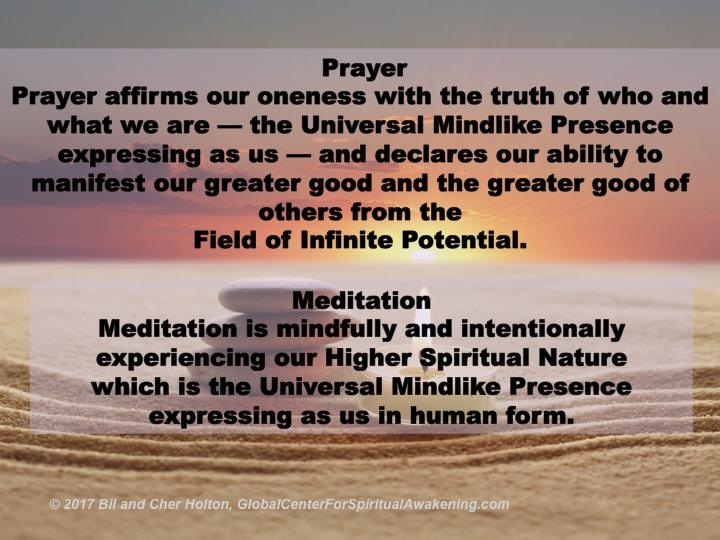 Prayer-Meditation-Definitions