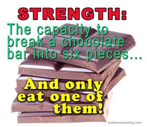 Poster-strength-chocolate