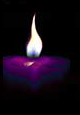 Purple-SelfReliance-Candle