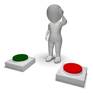 Choice-PushingButtons