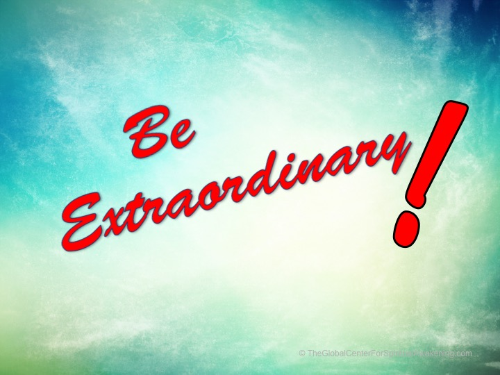 Be-Extrraordinary
