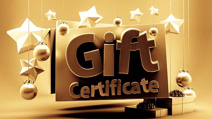 Gift-certificate-Dreamstime